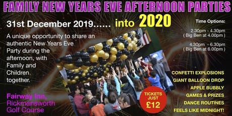 Kids Afternoon New Years Eve Party - NYE Rickmansworth tickets