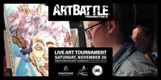 Art Battle Fredericton - November 30, 2019
