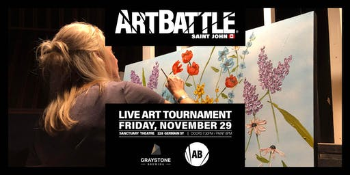 Art Battle Saint John - November 29, 2019