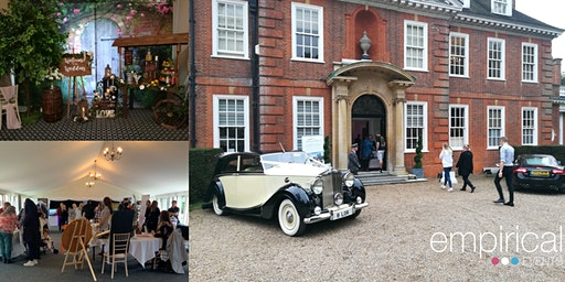 Empirical Events Wedding Show at Hunton Park Hotel, Hertfordshire