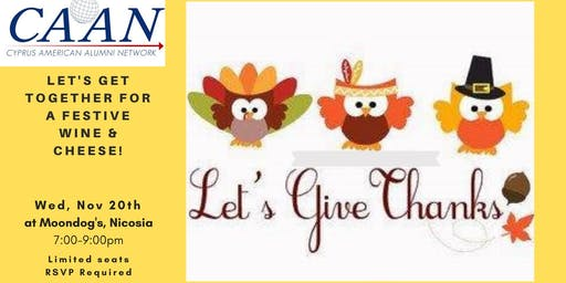 Let's Give Thanks - Networking Event
