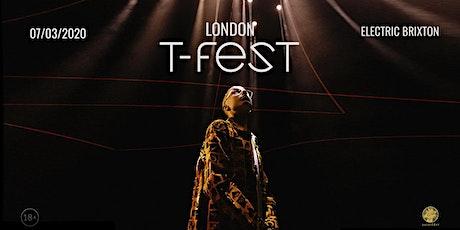 T-Fest   Большой Концерт в Лондоне   7 Марта tickets