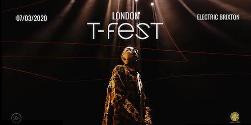 T-Fest | Большой Концерт в Лондоне | 7 Марта