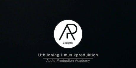 Öppet Hus - Workshop i musikproduktion & DJ biljetter