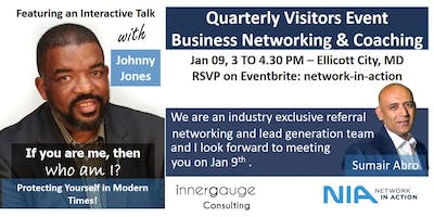 Network in Action-Quarterly Visitors Event-Business Networking & Coaching