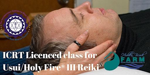 Usui/Holy Fire® III Reiki®Master class