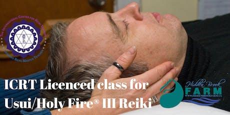 Usui/Holy Fire® III Reiki Master class tickets