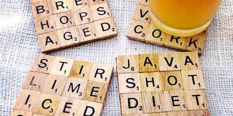 Up-cycled Scrabble Tile Crafts Adult Workshop tickets