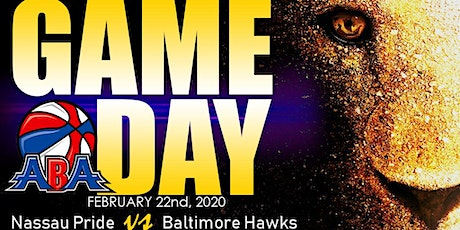 Nassau Pride vs Baltimore Hawks tickets