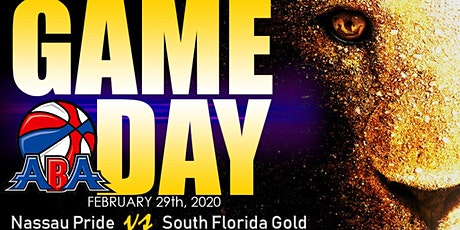 Nassau Pride vs St. Augustine Glory tickets