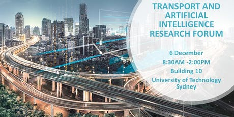 UTS Transport and Artificial Intelligence Research Forum tickets