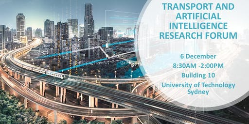 UTS Transport and Artificial Intelligence Research Forum
