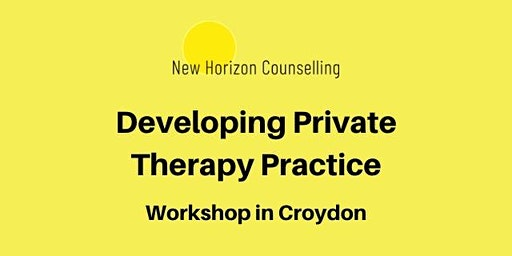 Developing Private Therapy Practice