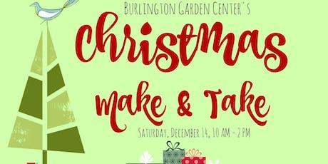 Christmas Make & Take tickets