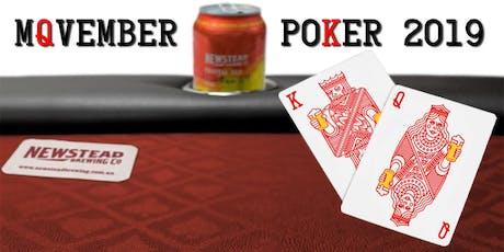 Movember Poker 2019 tickets