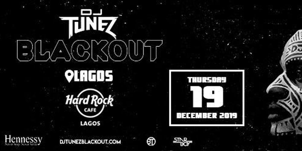 Image result for DJ Tunez Blackout Lagos