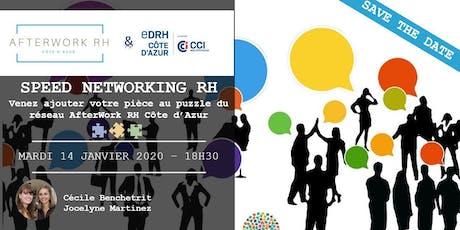 AfterWork RH Côte d'Azur - 14 janvier 2020 - Speed Networking RH tickets