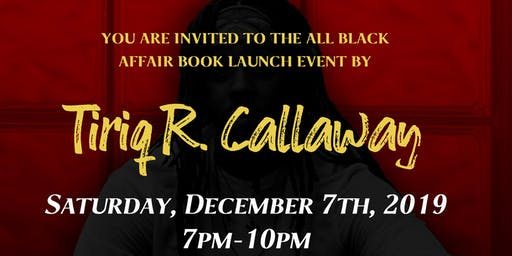 All Black Affair Book Launch Event