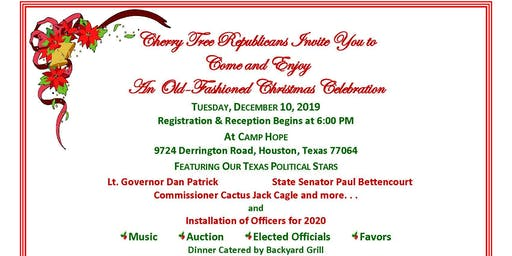 CHERRY TREE REPUBLICANS PRESENT AN OLD FASHIONED CHRISTMAS