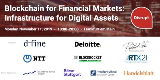 Blockchain for Financial Markets: Infrastructure f