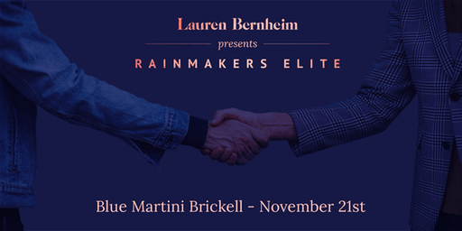 Rainmakers Elite - November Gathering