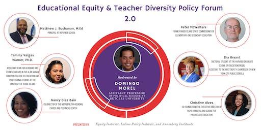 Teacher Diversity Policy Forum
