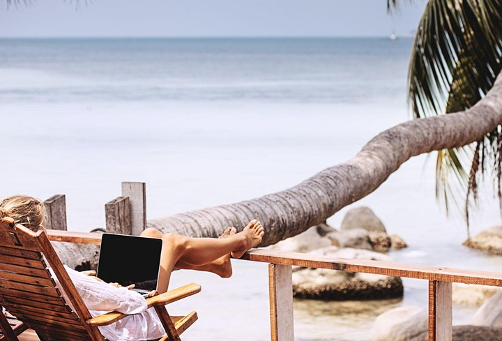 Imagen de Become a Digital Nomad: How to work remotely and make a living of it
