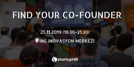 Find Your Co-Founder #9 - StartupHR tickets