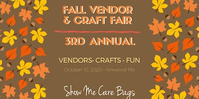 3rd Annual Fall Vendor and Craft Fair
