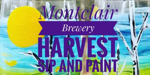 Montclair Brewery Sip and Paint