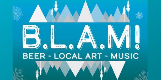BLAM (Beer, Local Art, Music) at Warren Station - November 23rd