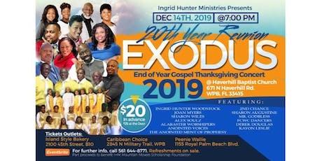 Exodus 2019 20th year  reunion tickets