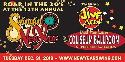 New Year's Eve Celebration at the Spectacular Coliseum - VIP Front of House - 12th Annual Swingin The New Year