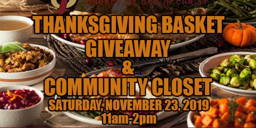 Thanksgiving Basket & Community Closet
