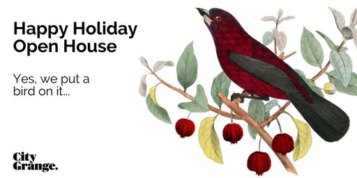 Happy Holiday Open House Weekend