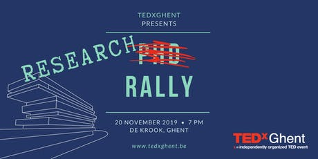 TEDxGhent Research Rally 2019 tickets