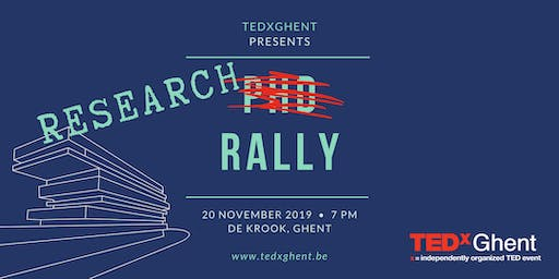 TEDxGhent Research Rally 2019