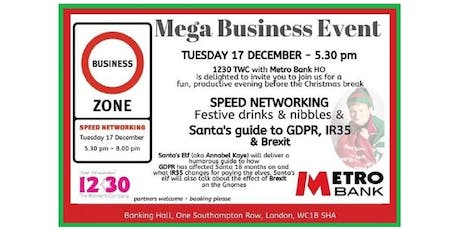 1230 TWC with Metro Bank - Mega Business Event tickets