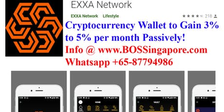 Cryptocurrency Wallet With Potential To Earn 5%/month Passively! Free Intro tickets