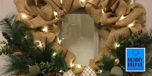 Christmas Wreath making.