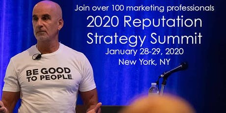 2020 Reputation Strategy Summit tickets