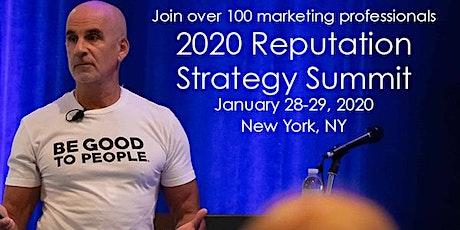2020 Reputation Strategy Summit tickets