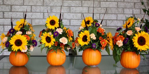 Fall Floral Arrangement Class by POSH Life Floral & Events