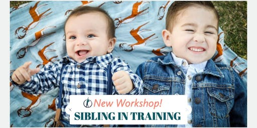 Sibling in Training Workshop- an event for kids who are being promoted to big brother or sister