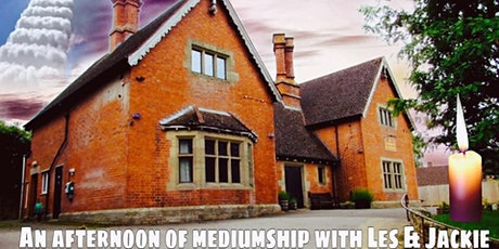 An afternoon of mediumship with Les and Jackie- £12 P/P tickets