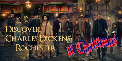 Discover Charles Dickens Rochester at Christmas - a Guided Walking Tour