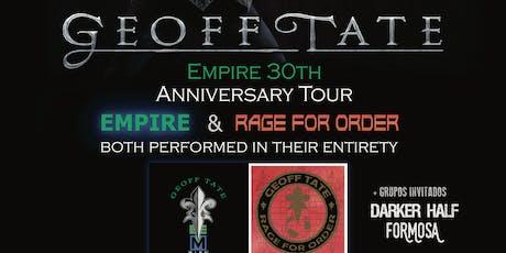 Geoff Tate-Empire 30th anniversary tour entradas