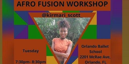 Afro Fusion Workshop