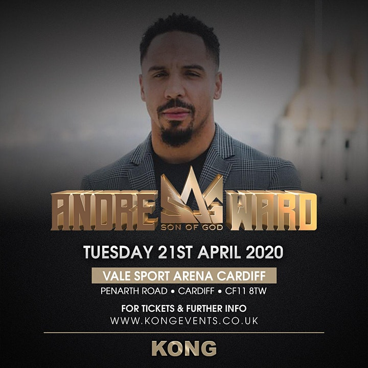 An Evening With Andre Ward - Cardiff image