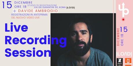 LiveUp |LO/\D| - Davide Ambrogio  biglietti